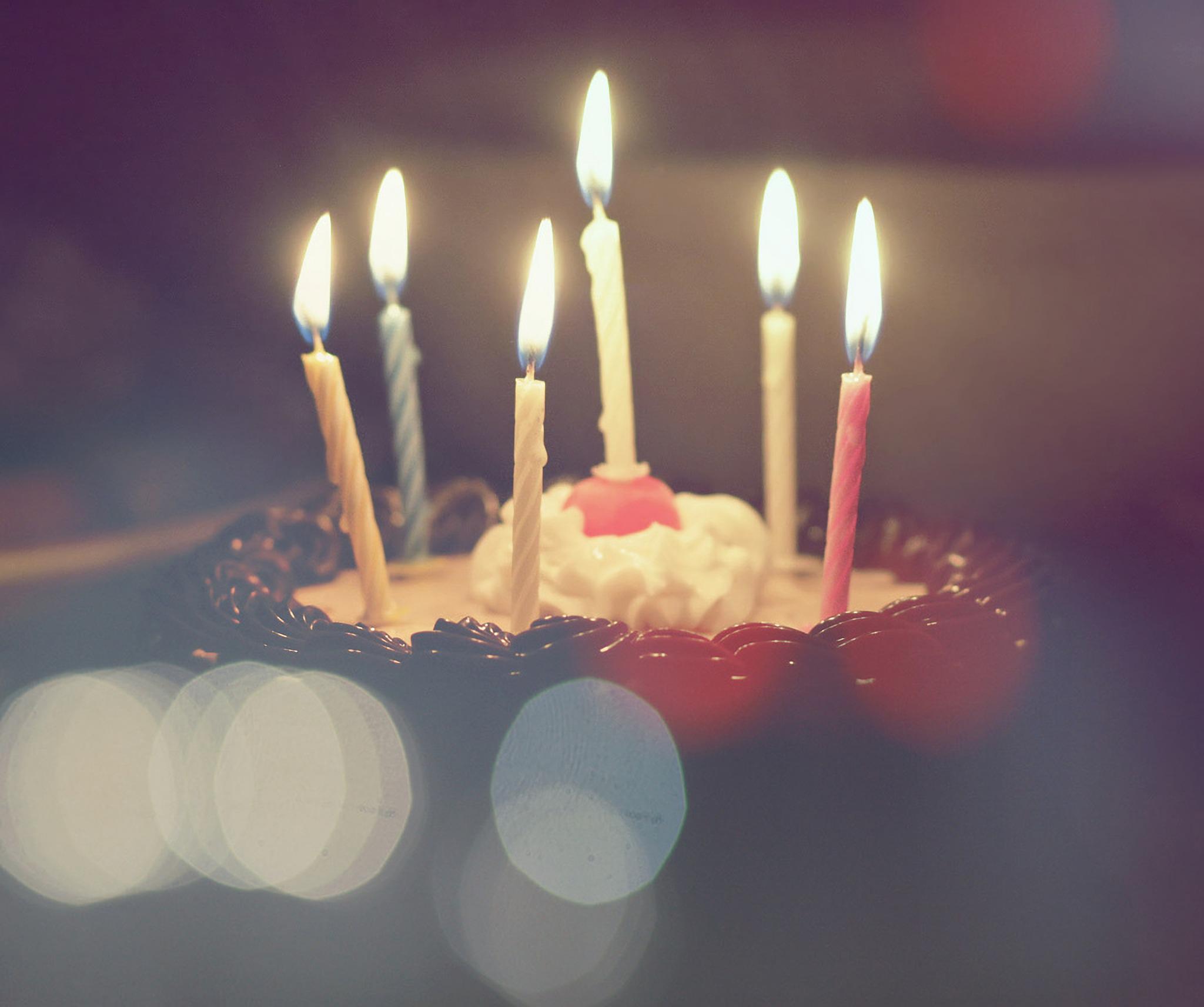 祝自己生日快乐图片字